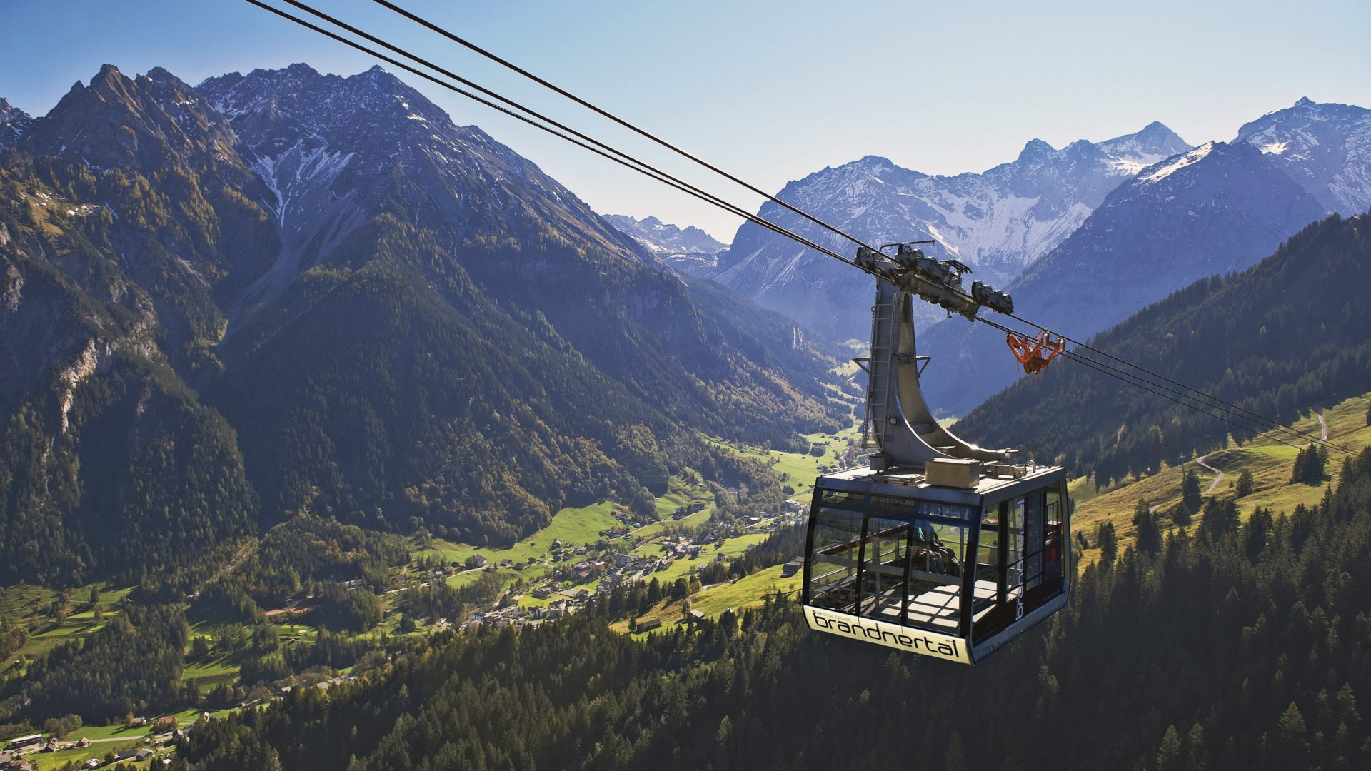 Panoramabahn Brandnertal im Sommer © Bergbahnen Brandnertal GesmbH