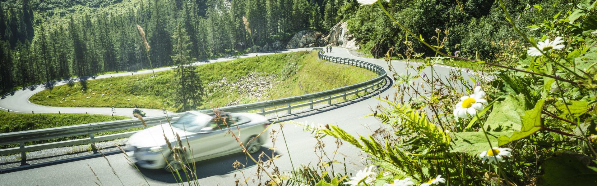 V-CARD Sonstige Ausflugsziele, Silvretta-Hochalpenstrasse Montafon© Dietmar Denger / Vorarlberg Tourismus