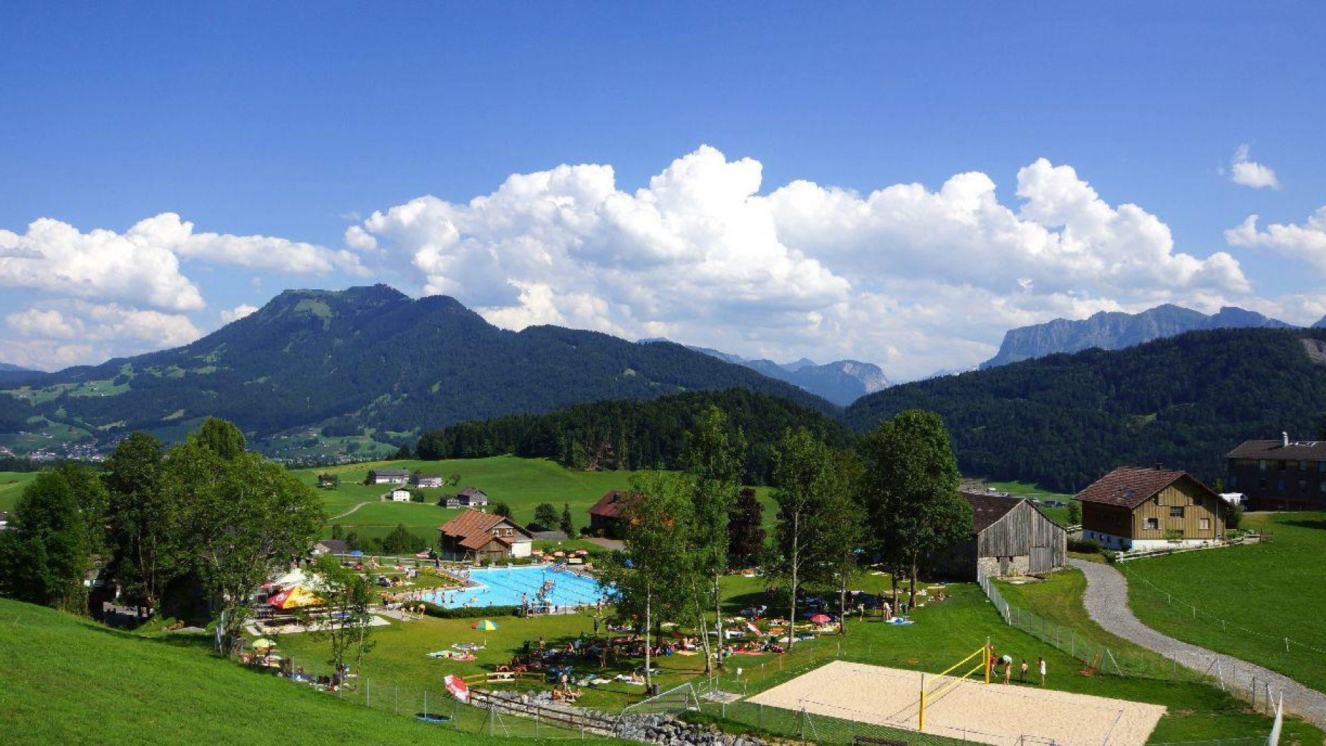 Schwimmbad Schwarzenberg