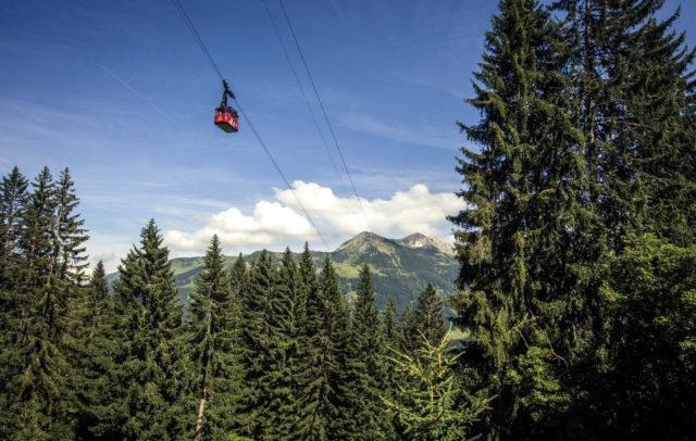 Kleinwalsertal Walmendingerhornbahn Oliver Farys © Oliver Farys / Kleinwalsertal Tourismus eGen | Fotograf: Oliver Farys