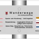 Wanderwegekonzept Vorarlberg