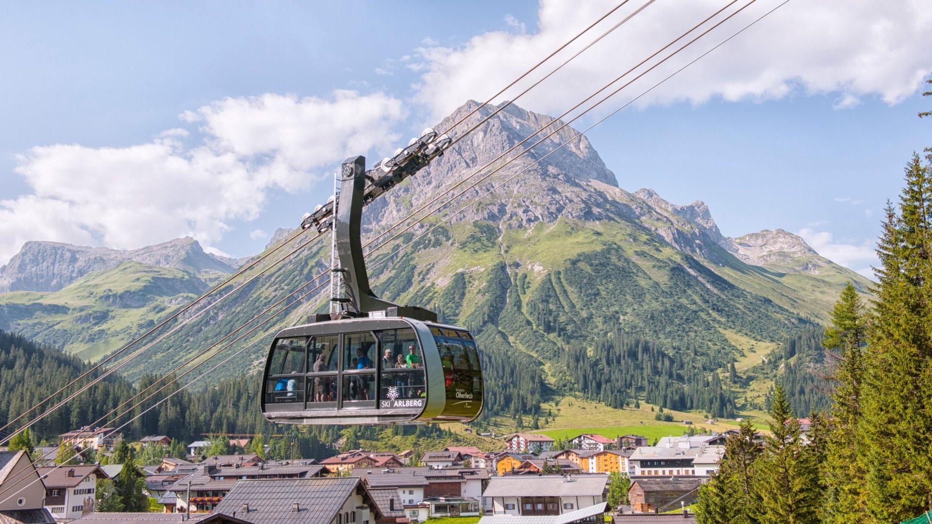 Vorarlberg Karte Berge.Bergbahnen Vorarlberg Kostenlose Fahrten Mit Der V Card