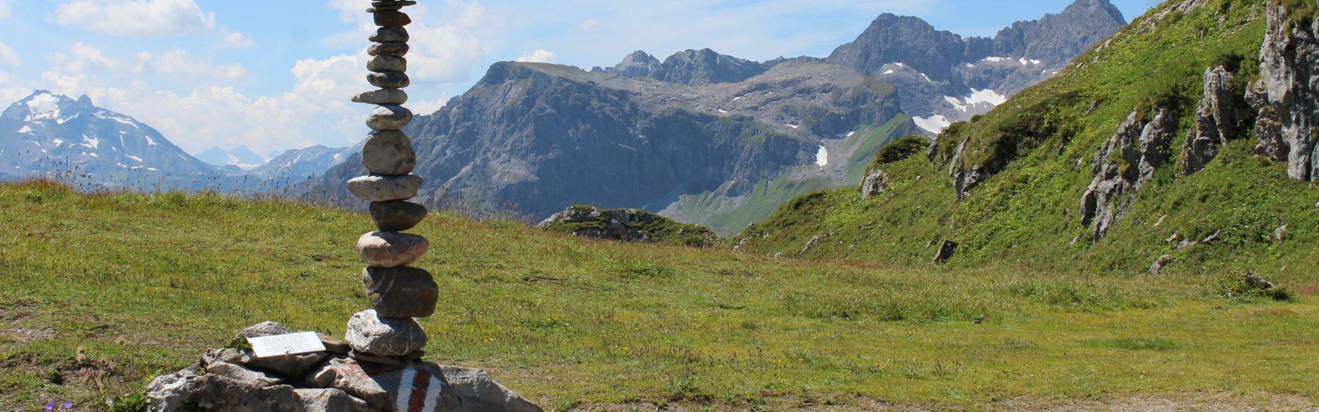 Geoweg am Rüfikop in Lech am Arlberg © Vorarlberg Tourismus