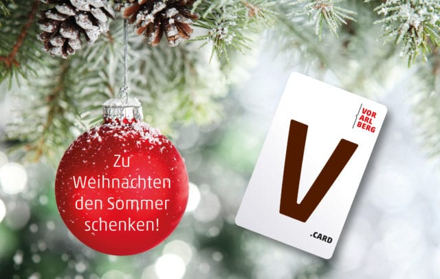 V-CARD zu Weihnachten schenken (c) iStock by Getty Images/sofiaworld