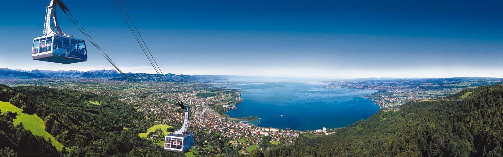 Pfänderbahn, Bergbahn, Ausflugsziel, V-CARD (c) Otmar Heidegger / Vorarlberg Tourismus