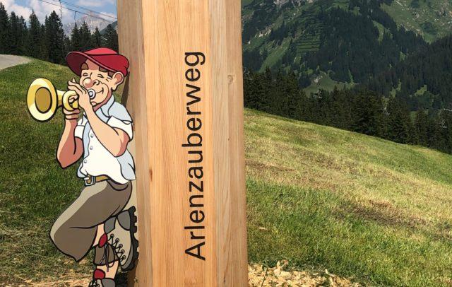 Arlenzauberweg Lech