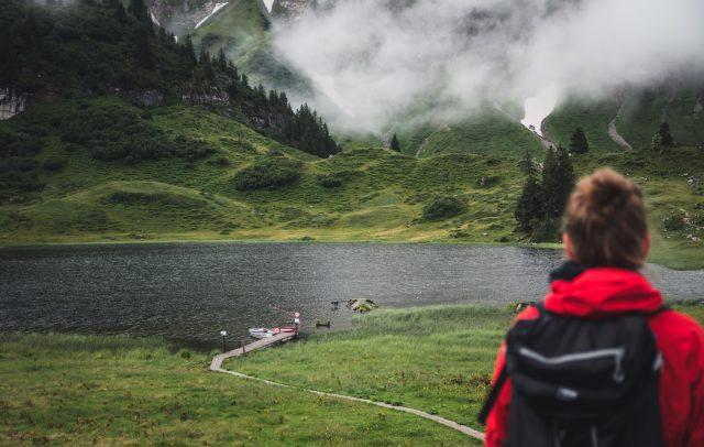 Körbersee, Wandern auf Min Weag, Etappe 10 © Thomas Stanglechner / Vorarlberg Tourismus