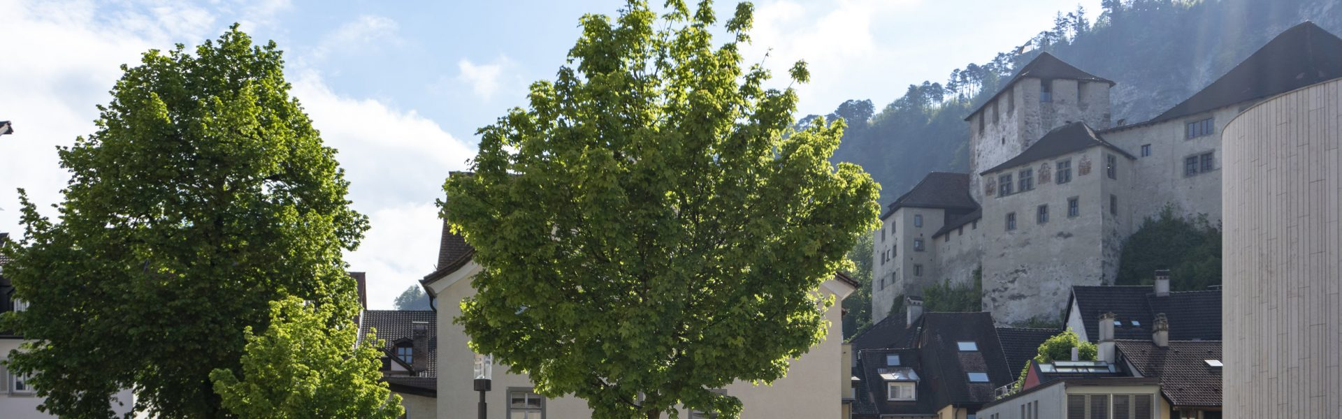 Feldkirch Innenstadt Blick auf Schattenburg © Agnes Ammann / Vorarlberg Tourismus