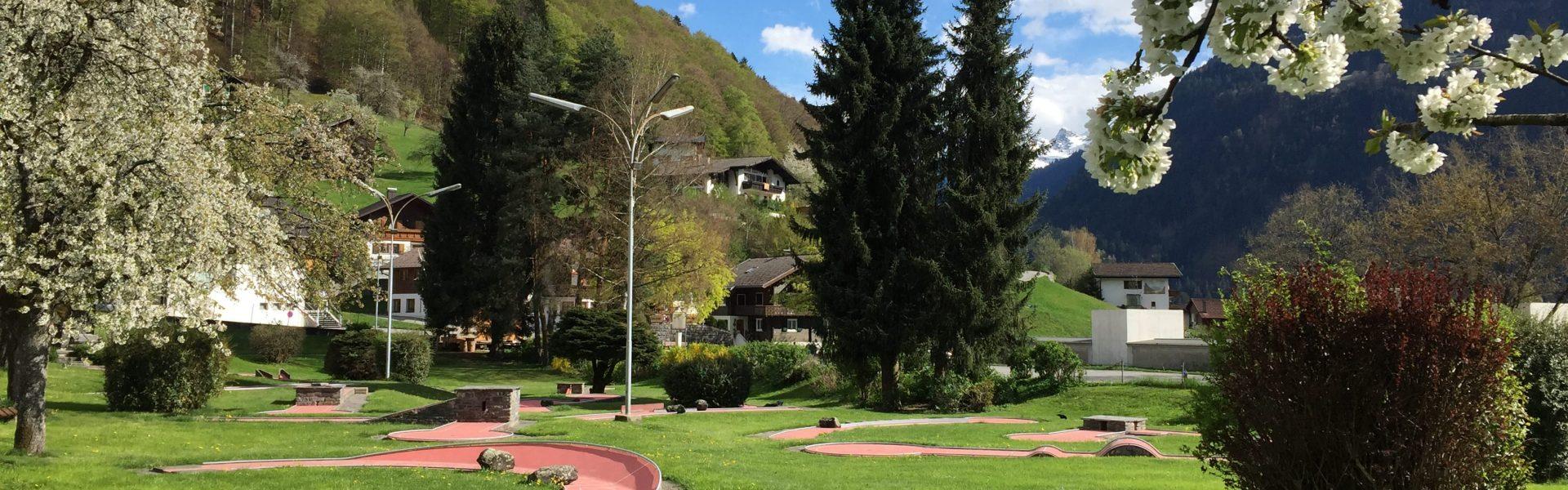 Minigolfplatz Schruns