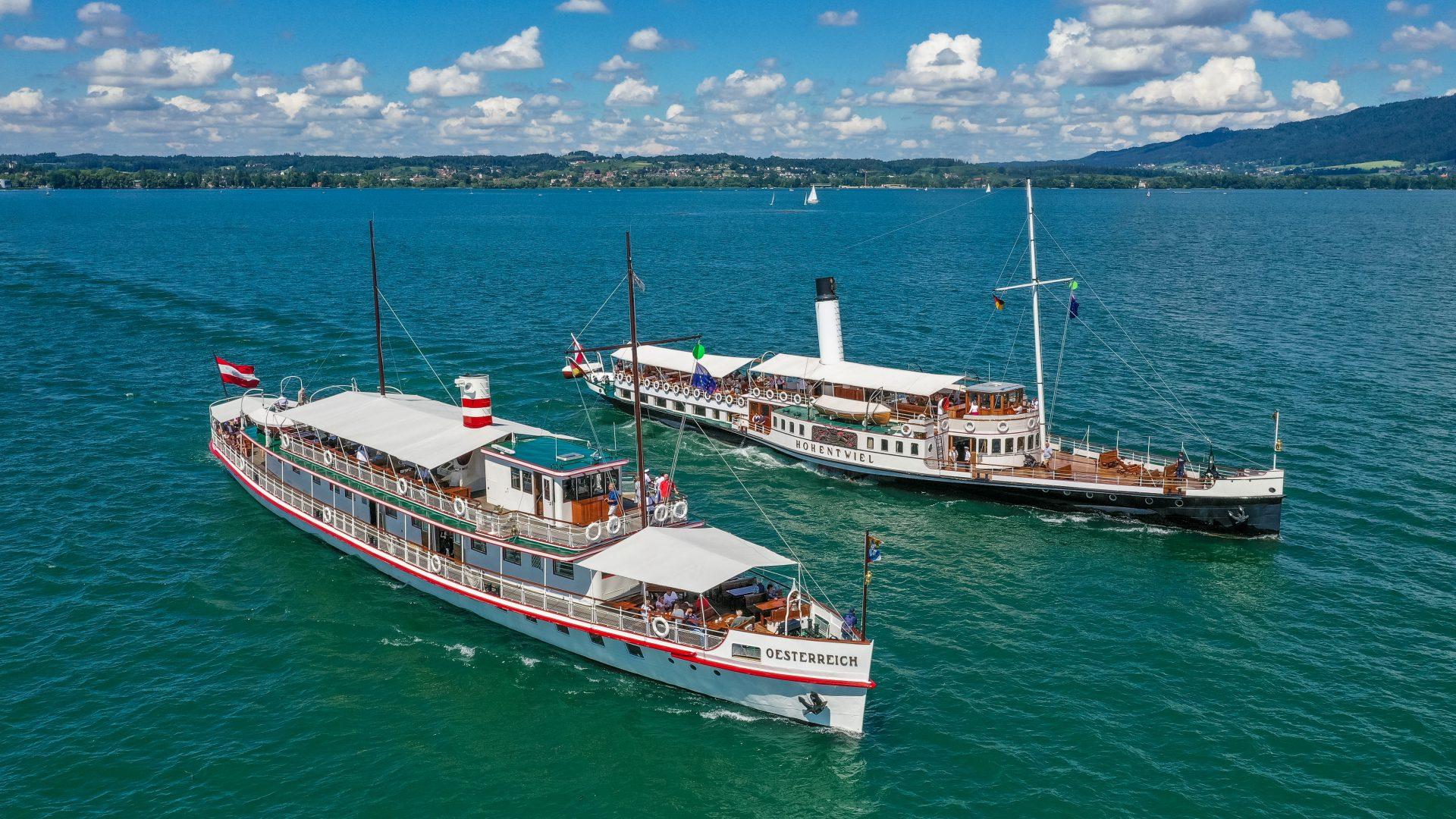 Historische Schifffahrt Bodensee