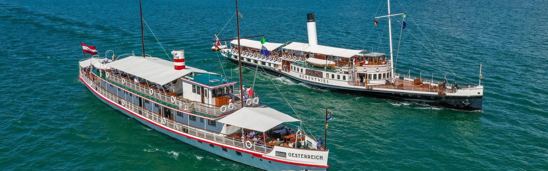 (c) Historische Schifffahrt Bodensee